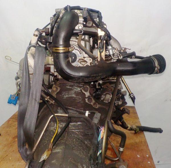 Двигатель Mazda FE - 504242 AT FR SGEW коса+комп 5