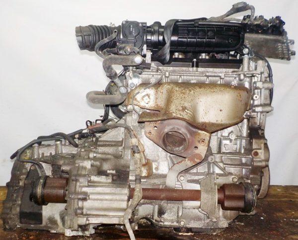 Двигатель Nissan MR18-DE - 081803A AT RE4F03B FQ40 FF VJY12 100 615 km коса+комп 4