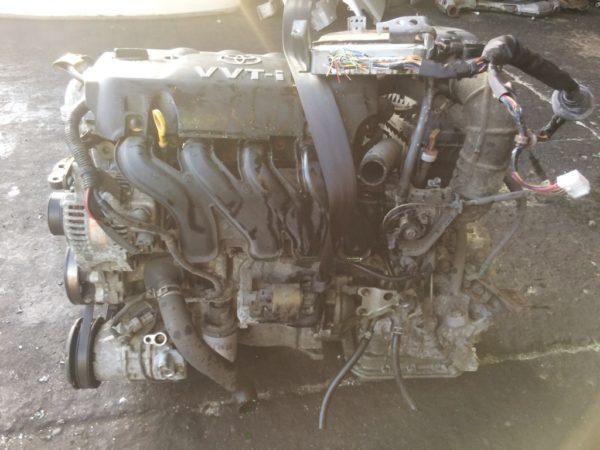 Двигатель Toyota 2NZ-FE - 2605312 AT U441E-01A FF NCP60 154 000 km коса+комп 3