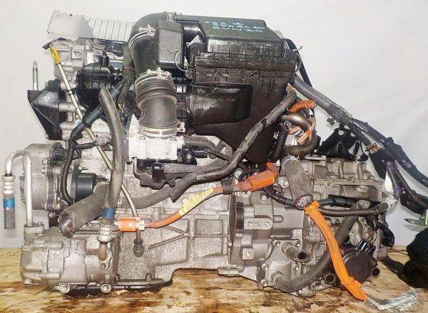Двигатель Toyota 2ZR-FXE - 5558680 CVT P410-01A FF ZVW30 112 000 km коса+комп 1