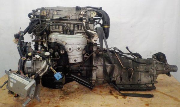 Двигатель Mazda FE - 504242 AT FR SGEW коса+комп 1