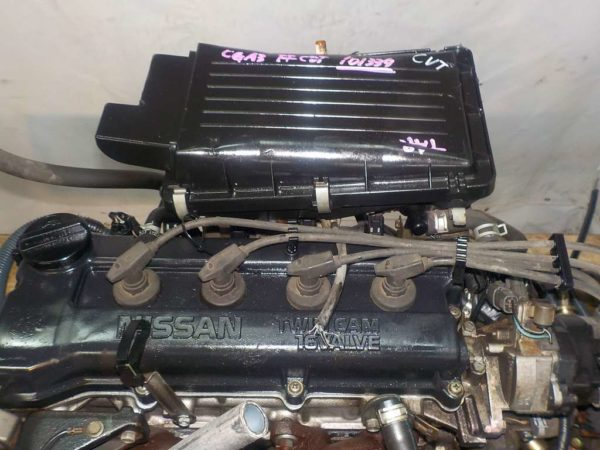 Двигатель Nissan CGA3 - 101339 CVT RE0F21A FF без датчика скорости 2