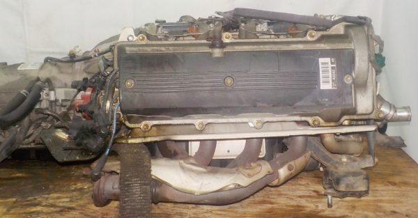 Двигатель Toyota 2TZ-F - 1591158 AT 30-40LE 35000-28870 FR 4WD 7