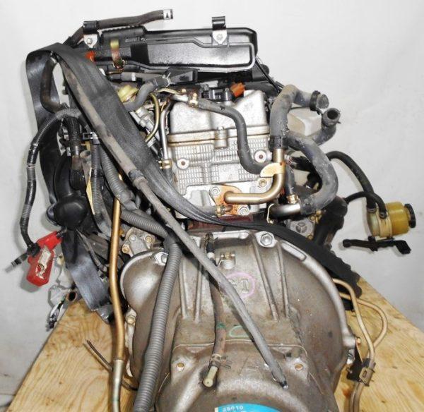 Двигатель Toyota 1G-FE - 6945701 AT 03-70LS A42DE-A05A FR GX110 BEAMS 108 000 km коса+комп 8