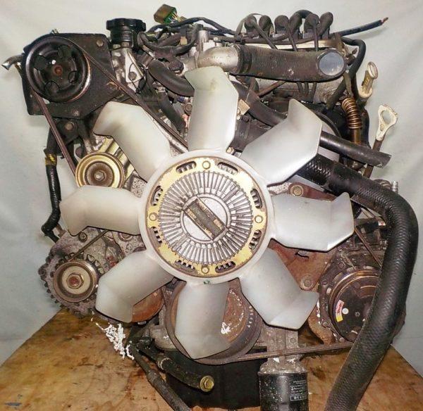 Двигатель Mitsubishi 6G72 - QT0861 AT FR 4WD Delica катушка коса+комп 5