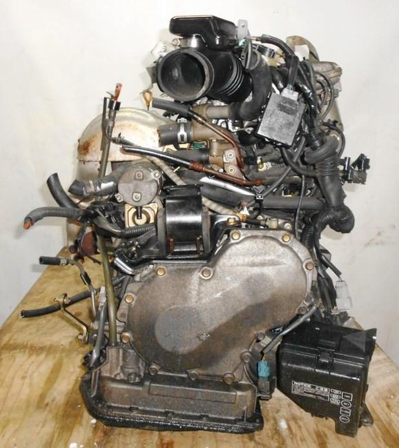 Двигатель Toyota 3S-GE - 2266574 AT A241E-622 FF SW20 коса+комп 5