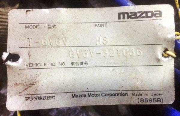 КПП Mazda B6 MT FF GV6V 8