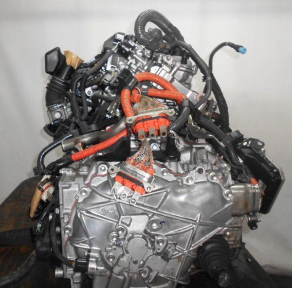 Двигатель Toyota 2ZR-FXE - 4399889 CVT P410-01A FF ZVW30 коса+комп 5