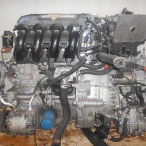 Двигатель Honda LDA - 2014398 CVT SBLA FF ZE2 коса+комп 7