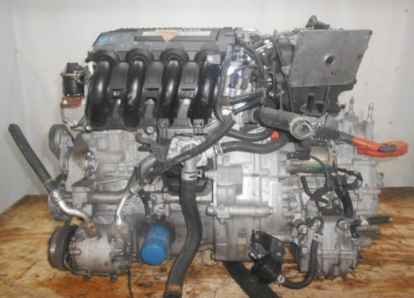 Двигатель Honda LDA - 2014398 CVT SBLA FF ZE2 коса+комп 1
