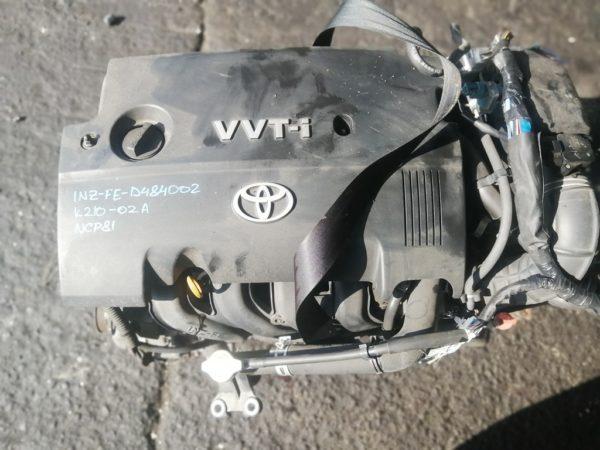 Двигатель Toyota 1NZ-FE - D484002 CVT K210-02A FF NCP81 156 000 km электро дроссель коса+комп 2