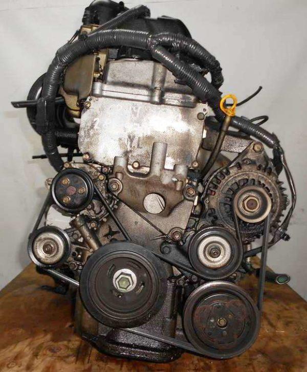 Двигатель Nissan CR14-DE - 280977 AT RE4F03B FF Z11 119 000 km коса+комп 3