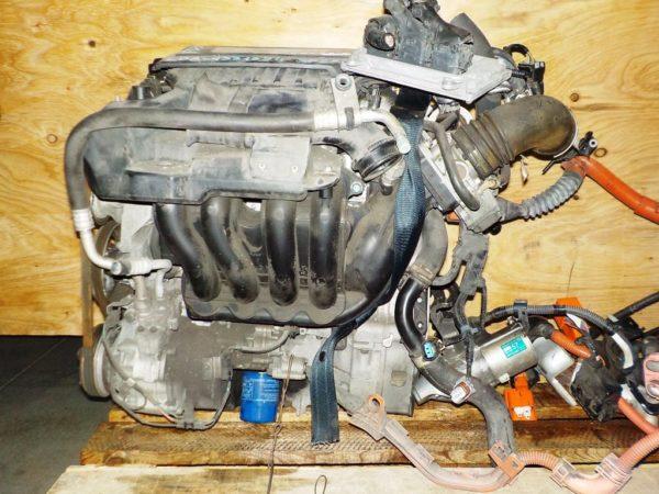 Двигатель Honda LDA - 1331354 CVT SPSA FF FD3 коса+комп, без КПП 5