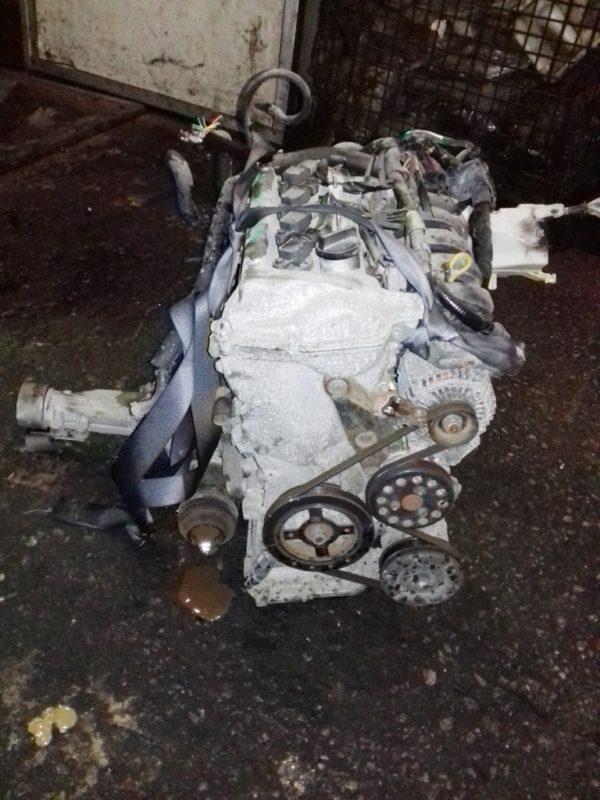Двигатель Toyota 1NZ-FE - B156648 AT U340F FF 4WD NCP85 124 000 km механический дроссель коса+комп 5