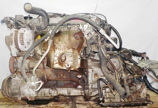 Двигатель Nissan KA24-DE - 137443U AT FF с датчиком скорости коса+комп 1