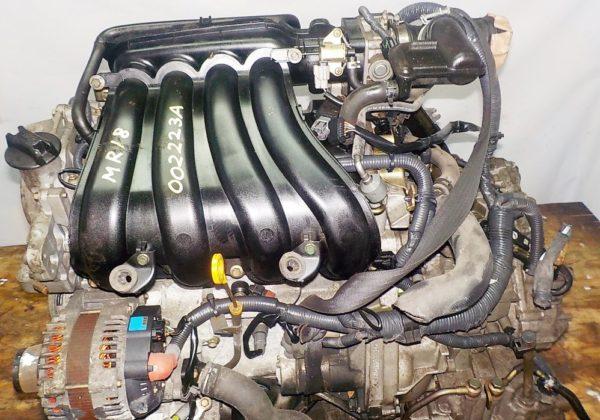 Двигатель Nissan MR18-DE - 002223A CVT RE0F08A FF 2