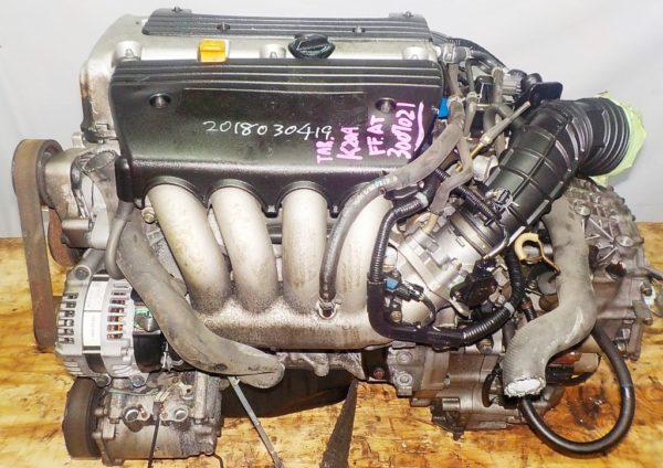 Двигатель Honda K20A - 6007024 AT MCTA FF CL7 коса+комп 1