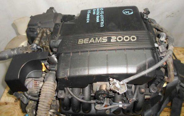 Двигатель Toyota 1G-FE - 6979707 AT 03-70LS A42DE-A04A FR GX110 BEAMS 115 000 km коса+комп 2
