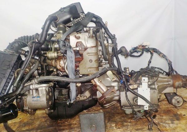 Двигатель Mitsubishi 4A30-TI - 409025 AT FR 4WD H56A коса+комп 3