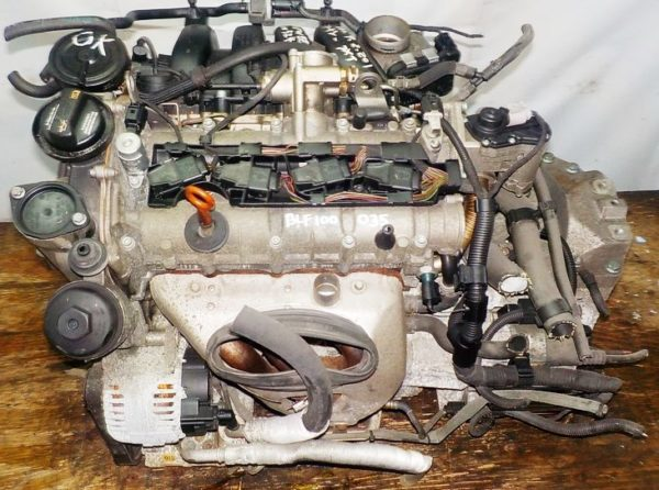Двигатель Volkswagen BLF - 100035 AT FF 2