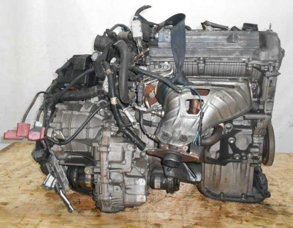 Двигатель Toyota 1NZ-FE - C071460 CVT K210-02A FF NCP100 102 000 km электро дроссель коса+комп 5