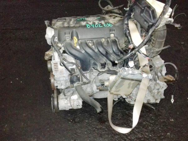 Двигатель Toyota 1NZ-FE - B402696 AT U340F FF 4WD NCP65 механический дроссель коса+комп 1