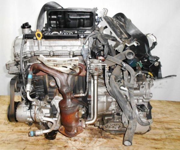 Двигатель Toyota 2SZ-FE - 1618761 CVT K410-05A FF SCP90 137 000 km коса+комп 1