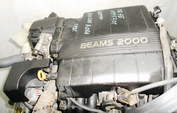 Двигатель Toyota 1G-FE - 6945701 AT 03-70LS A42DE-A05A FR GX110 BEAMS 108 000 km коса+комп 7