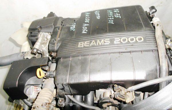 Двигатель Toyota 1G-FE - 6945701 AT 03-70LS A42DE-A05A FR GX110 BEAMS 108 000 km коса+комп 7