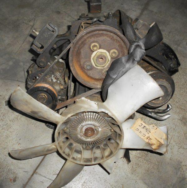 Двигатель Toyota 2TZ-FZE - 1445424 AT 4WD Estima 10