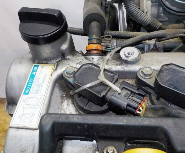 Двигатель Toyota 2SZ-FE - 1534656 CVT K410 FF коса+комп 3