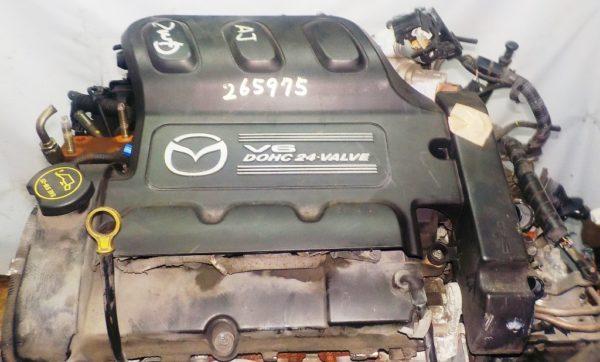 Двигатель Mazda AJ - 265975 AT FF LWFW 147 150 km 02′ коса+комп 2