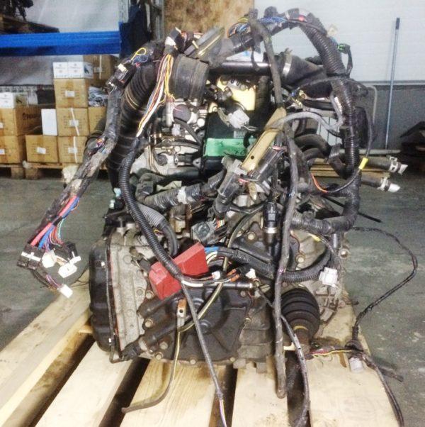 Двигатель Mitsubishi 4G15-T - GH3982 CVT FF MIVEC коса+комп 6