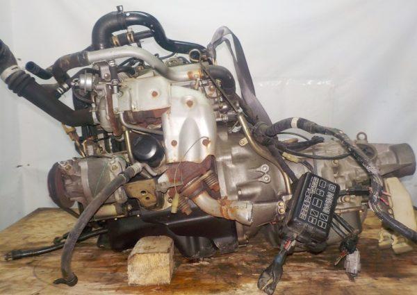 Двигатель Daihatsu EF-DEM - 7309891 AT FR (8950-87450,112200-2181) 119 000 km коса+комп 1