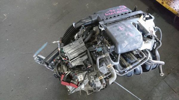 Двигатель Toyota 2SZ-FE - БЕЗ НОМЕРА CVT K410-05A FF SCP90 Vitz коса+комп 2
