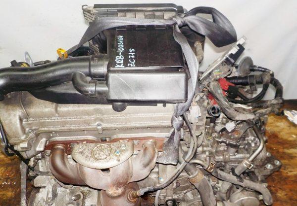 Двигатель Suzuki K12B - 1006164 CVT FF ZC71S коса+комп 2
