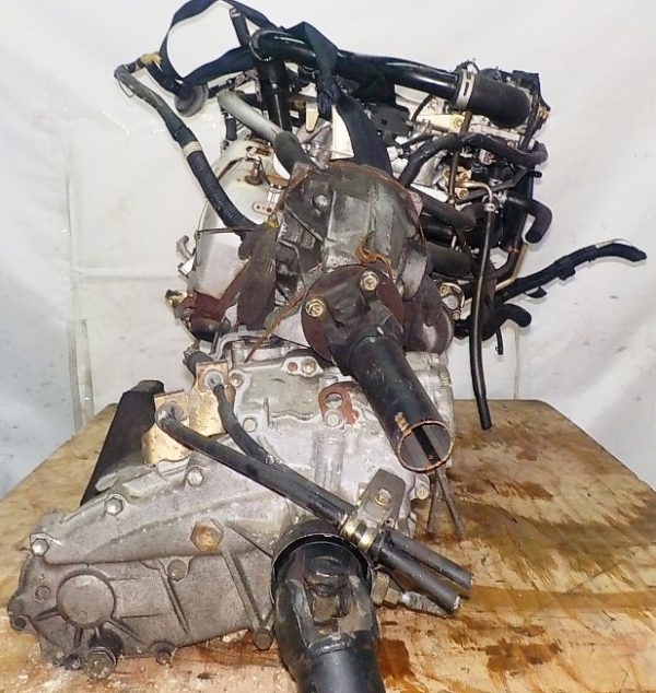 Двигатель Daihatsu EF-DEM - 7245029 MT FR 4WD J111G 124 000 km + передний редуктор коса+комп 6