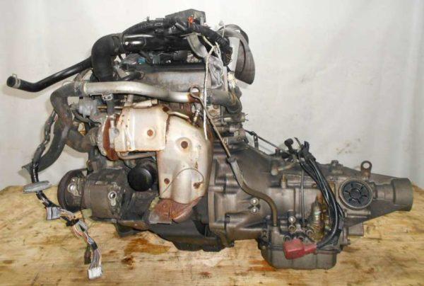 Двигатель Daihatsu EF-DEM - 6678385 AT GLS8 FR J131G 121 000 km коса+комп 1