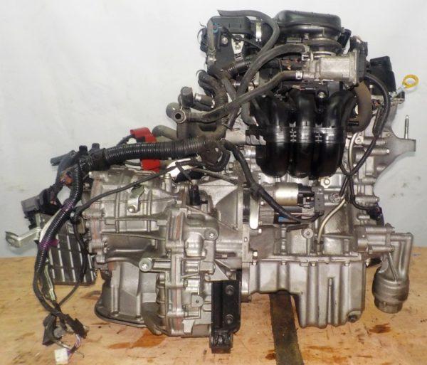 Двигатель Toyota 1KR-FE - 1085619 CVT K410-04A FF KSP90 коса+комп 4