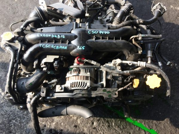 Двигатель Subaru EJ20 - С507170 AT TG5C7CBAAA FR 4WD BL5 EX20XDKBJE 151 000 km комп 2