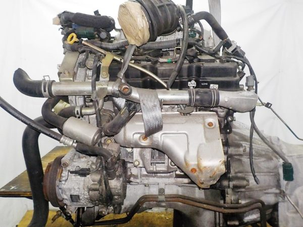 Двигатель Nissan VQ25-DE - 267978A AT RE5R05A FR Elgrand коса+комп 7