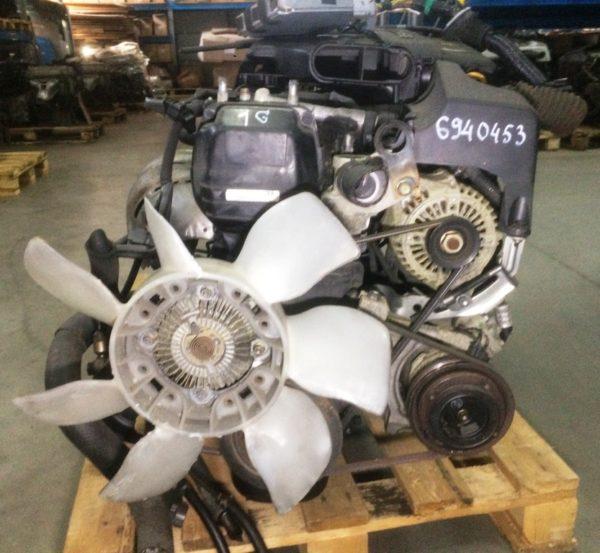 Двигатель Toyota 1G-FE - 6940453 AT 03-70LS 35000-2C400 FR BEAMS коса+комп 7