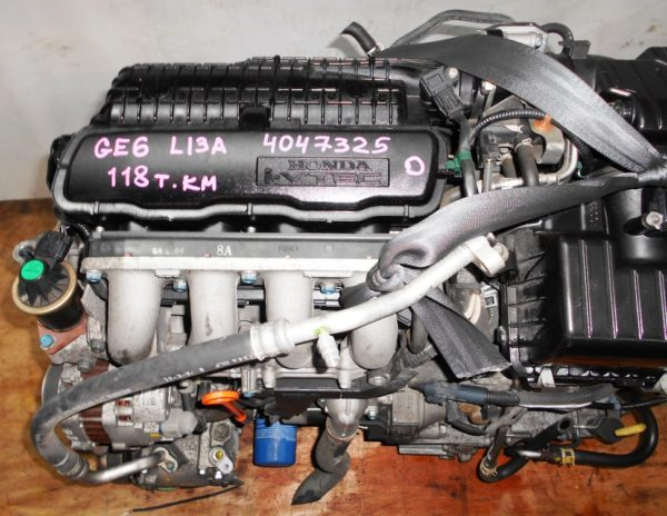Двигатель Honda L13A - 4047325 CVT SE5A FF GE6 118 000 km коса+комп 2