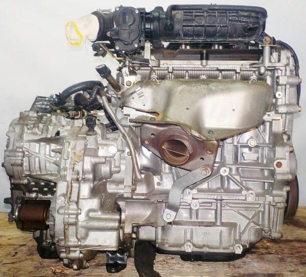 Двигатель Nissan MR18-DE - 007526A CVT RE0F08A FF коса+комп 4