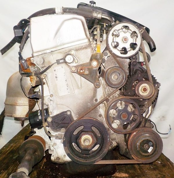 Двигатель Honda K24A - 5538128 AT MFKA FF RB1 коса+комп 3