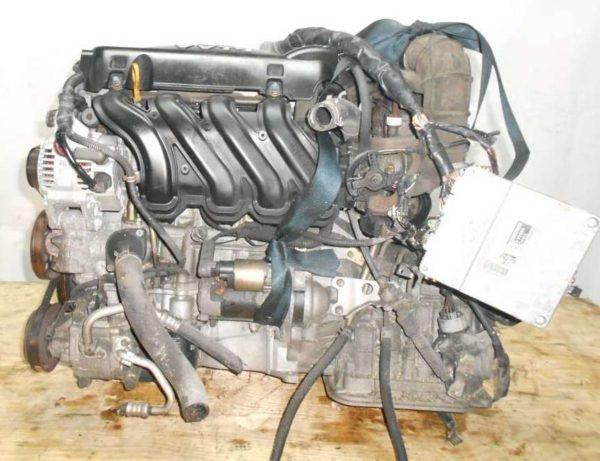 Двигатель Toyota 2NZ-FE - 2760799 AT U441E-03A FF NCP20 153 000 km без датчика скорости коса+комп 1