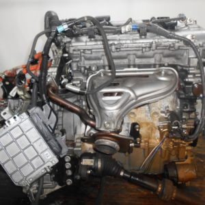 Двигатель Toyota 2ZR-FXE - 4399889 CVT P410-01A FF ZVW30 коса+комп 9