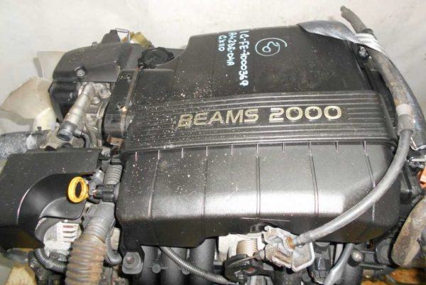 Двигатель Toyota 1G-FE - 7000369 AT 03-70LS A42DE-04A FR GX110 BEAMS 172 300 km коса+комп 3