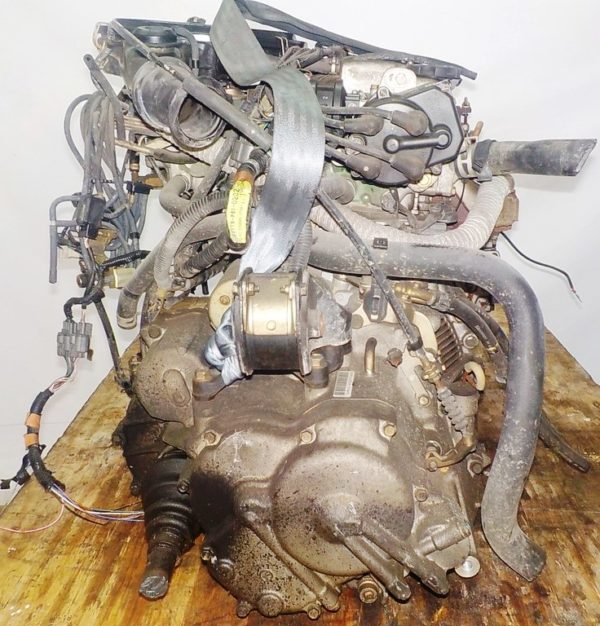 Двигатель Honda D13B - 2222586 AT S48A FF carburator 6