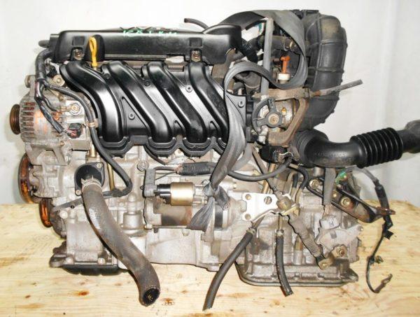 Двигатель Toyota 2NZ-FE - 3393928 AT U441E-03A FF NNP11 128 000 km коса+комп без датчика скорости 1